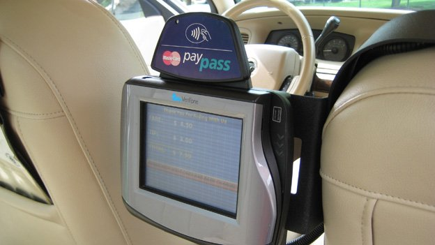 Hundreds of cab drivers in D.C. will have to scramble to install new credit card equipment from other service providers.