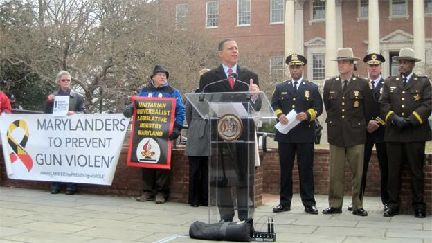 Lt. Gov. Anthony Brown discusses the gun control legislation that has languished in the House of Delegates.
