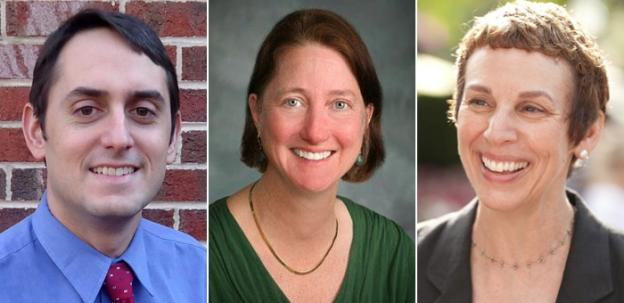 Republican Mark Kelly, Green Party candidate Audrey Clement, and Democrat Libby Garvey will be on the ballot for Arlington County Board on Tuesday.