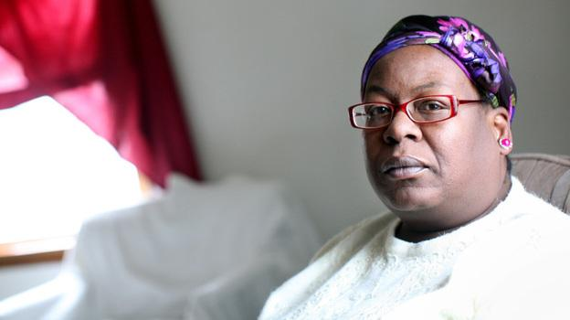 "Shirley Ree Smith sits in the living room of her daughter's upstairs duplex in Alexandria, Minn. Smith is waiting to hear if California Gov. Jerry Brown will grant her clemency. ""They say things happen for a reason. I'm not sure if I'll ever figure out a reason for all of this,"" she says."
