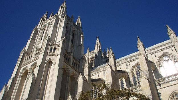 National Cathedral Dean Gary Hall provided hopeful words in his Easter sermon for the Newtown victims' families.