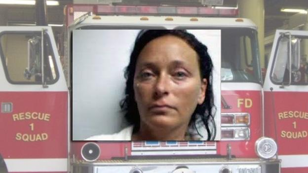 Tonya S. Bundick, 40 of Parksley, Va., was arrested during a traffic stop near the scene of an arson at a vacant house.