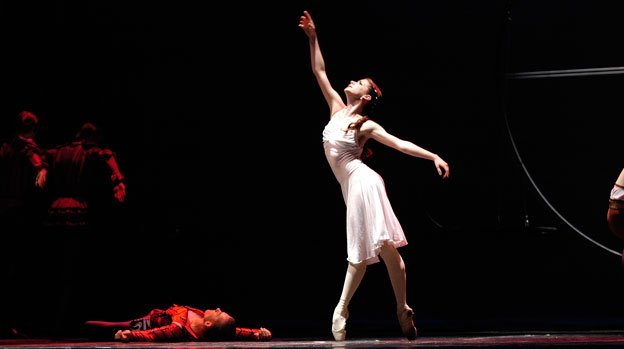 "The Moscow Festival Ballet will perform the classic ballet ""Romeo and Juliet"" in Fairfax this Saturday night."