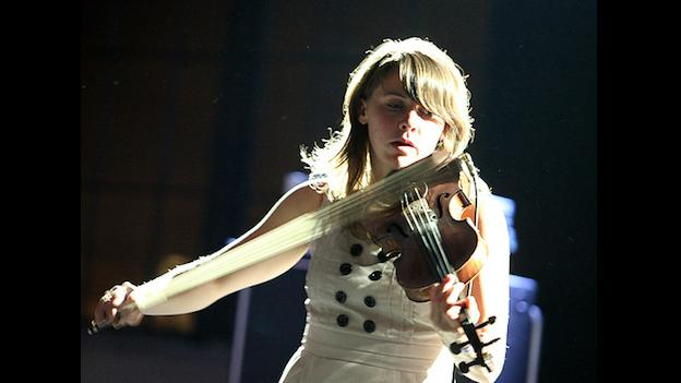 Arcade Fire violinist Sarah Neufeld goes solo with a few friends tonight at Arlington's IOTA.