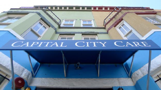 Capital City Care is the first medical marijuana dispensary to open under the District's new program.