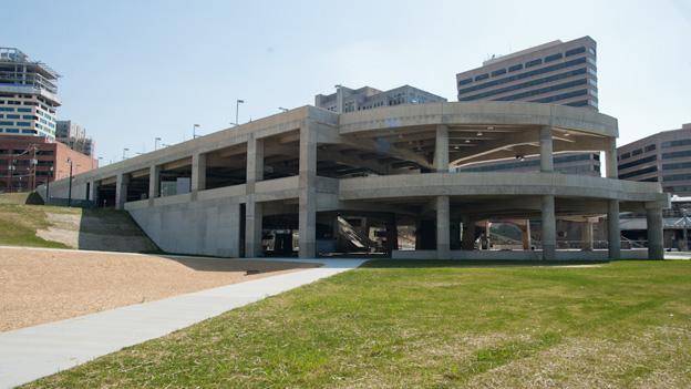 The progress of the beleagured Silver Spring Transit Center still inspires optimism from Isiah Leggett.