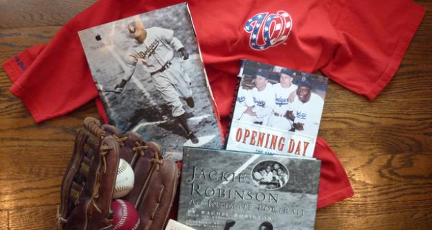 Lee Rosner, 72, of Arlington, Va., showcases his collection of baseball memorabilia.