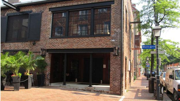 Virtue Feed & Grain, which opened last year in Old Town Alexandria, borders Wales Alley, but there's an ongoing fight over whether they can place tables and chairs for service in that alley.