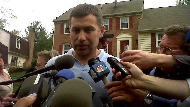 The suspect's uncle, Ruslan Tsarni of Montgomery Village, Md., addressed reporters in a press conference on Friday, April 19, 2013.