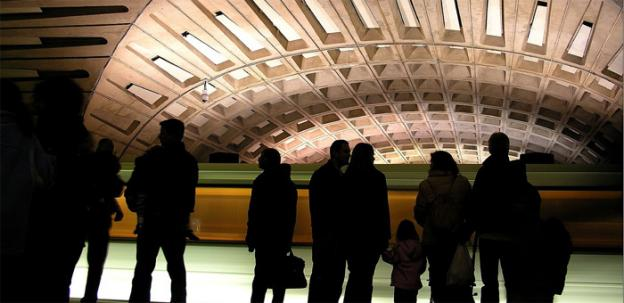 Shuttles replace trains on three Metro lines this weekend, which may result in more waiting than usual.