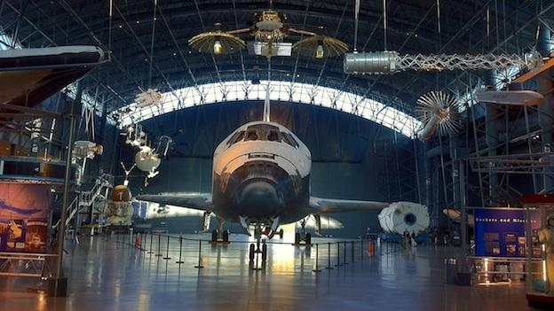 Space shuttle Discovery has officially arrived at its new home at the Smithsonian.