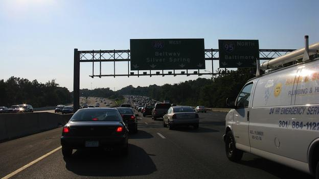 A fatal car crash is causing heavy traffic on the Beltway this morning.