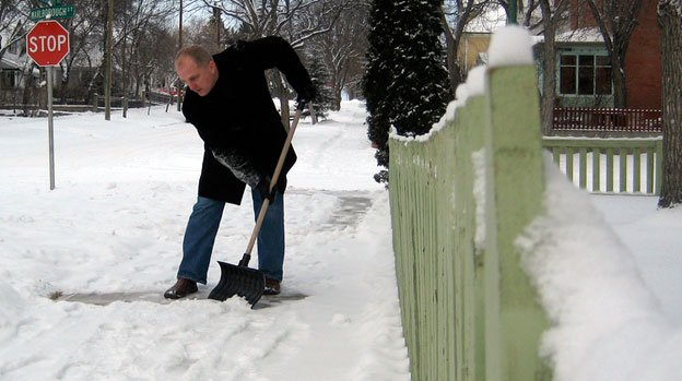 By law, snow needs to be shoveled from sidewalks within 24 hours, but that doesn't always happen.