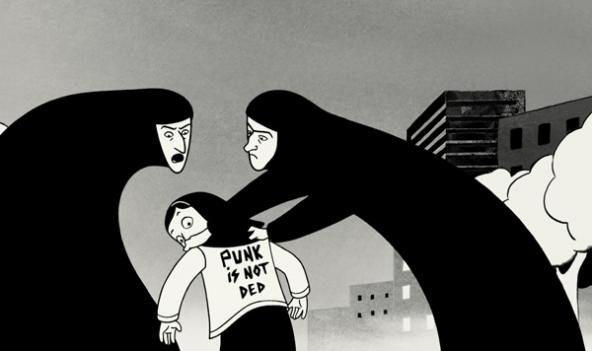 The mind behind Persepolis speaks at Washington's Lisner Auditorium Friday.