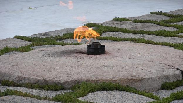 The eternal flame will burn more efficiently once repairs are completed at the end of the month.