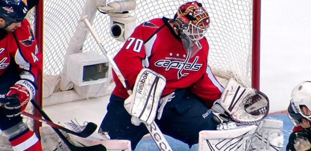 The Capitals hope that rookie goaltender Braden Holtby can continue to anchor the team from the net. He boasts an impressive .931 save percentage in the playoffs.