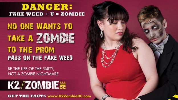 D.C. is warning kids: synthetic marijuana will turn you into a zombie.