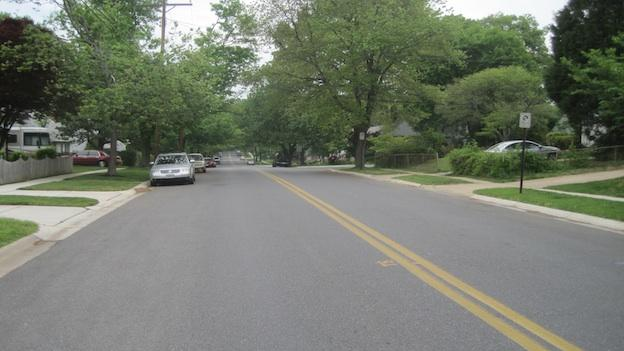 This is of the 10400 block of Tenbrook Drive in Silver Spring where a new camera will be located.