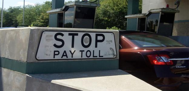 Drivers on the Dulles Greenway can feel that their tolls are going to a good cause today.