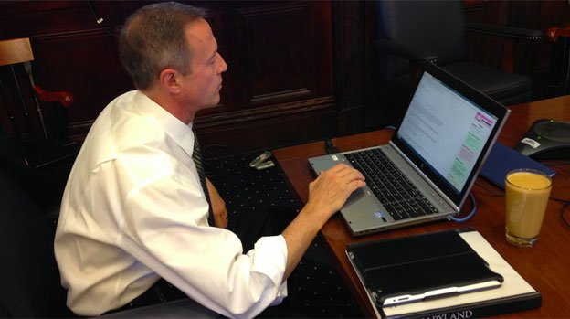 Gov. Martin O'Malley sits down to answer questions for a Reddit AMA.