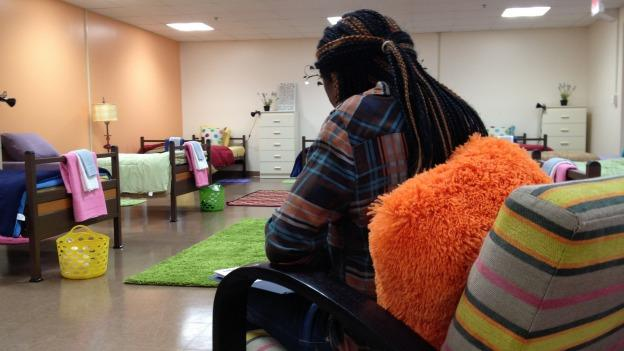The new homeless shelter in Prince George's County is furnished to appeal to young people.