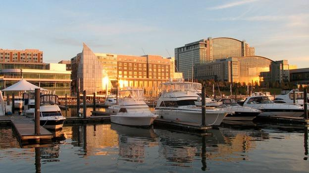 The National Harbor may be much quieter as a result of water restrictions.