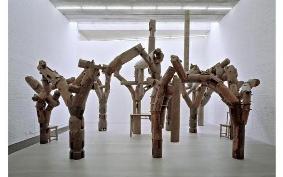 One of Ai Weiwei's monumental installations opens at Sackler Gallery Saturday.