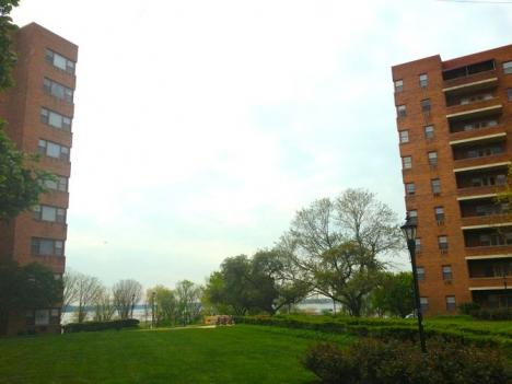 These two mid-rise apartment buildings, which constructed in 1950, are currently owned by the Virginia Department of Transportation.