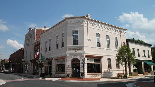 Some of the money from the proposed property tax hike would be used to spruce up Manassas' historic downtown.