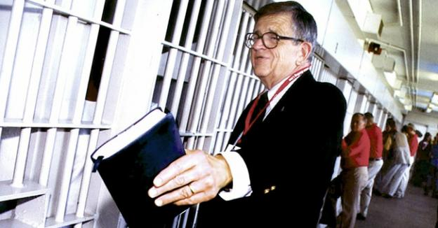 Charles Colson became an evangelical preacher after going to prison for his role in the Watergate scandal.