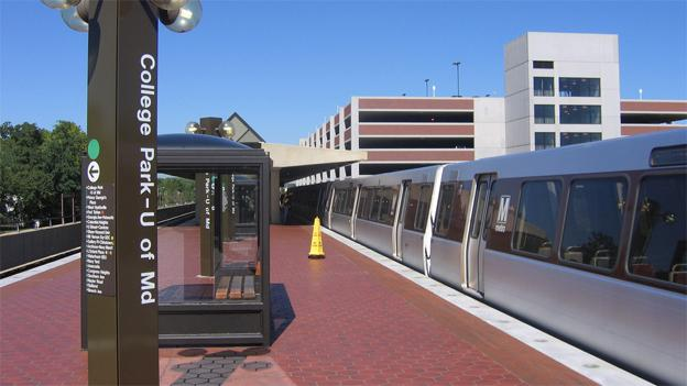 The College Park Metro station on the Green Line will be off-limits, diploma or no diploma.