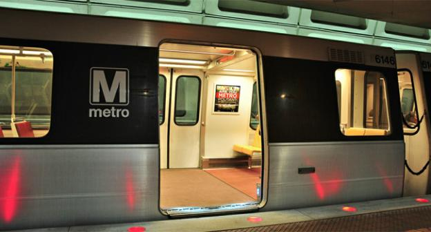 Two incidents on the Red Line this week should have you thinking twice about standing near doors on the Metro.