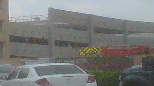 A concrete section of the parking garage at Westfield Montgomery Mall in Bethesda collapsed on Thursday, killing one person and critically injuring a second.