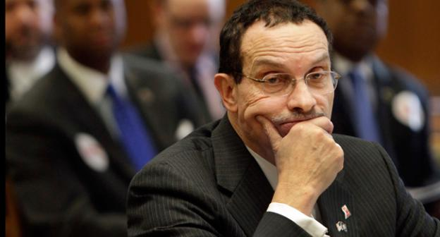 D.C. Mayor Vincent Gray, testifying for D.C. statehood in January. Two of his 2010 campaign aides have so far pleaded guilty to charges stemming from a federal probe.