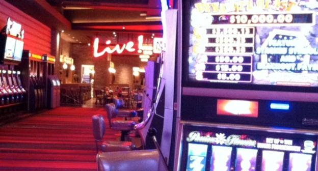 The Maryland Live! casino in Anne Arundel County, pictured here a few days before it opened in June, could get live-dealer table games under a gambling expansion being considered in Maryland.