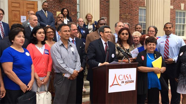 Case De Action unveiled their endorsements for the Democratic primary on Wednesday.
