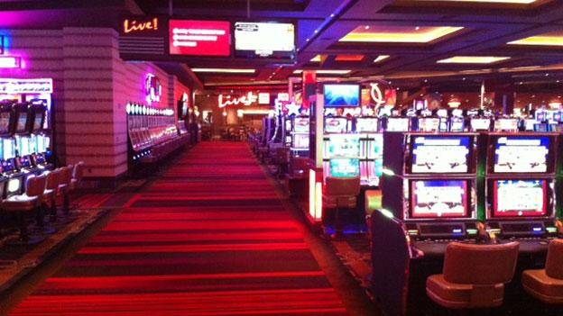 At a preview held for area media, the massive Maryland Live! Casino was shown off in all its flashing, twinkling, tax-revenue-generating glory.