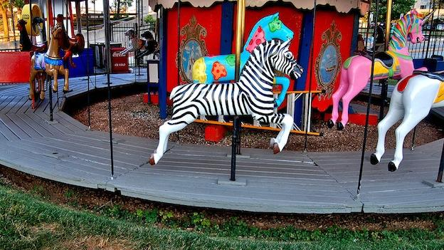 The carousel at Baltimore's Inner Harbor was taken down earlier this year due to financial difficulties.