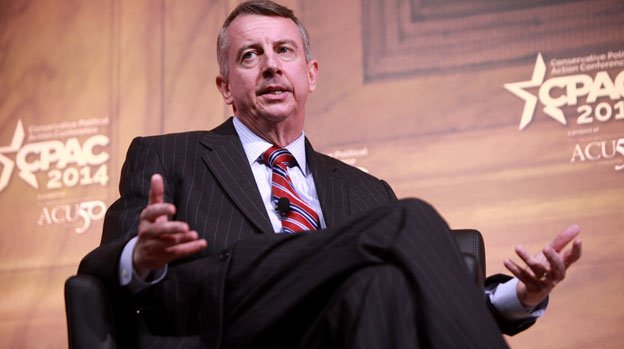 Ed Gillespie is considered the favorite to challenge former Democratic governor Sen. Mark Warner.