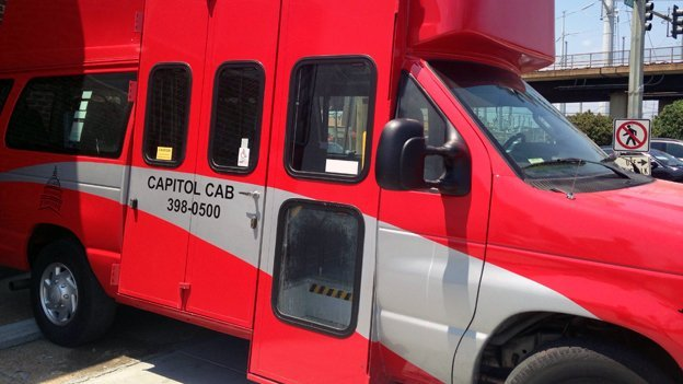 Wheelchair-accessible cabs can be hard to come by in the District.
