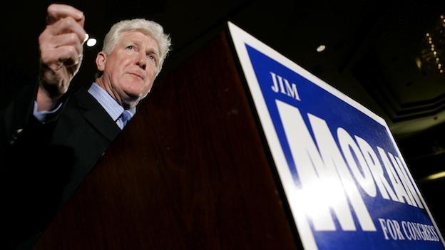 Rep. Jim Moran, D-Va., speaks at an election night event in Vienna, Va., Tuesday, Nov. 7, 2006.