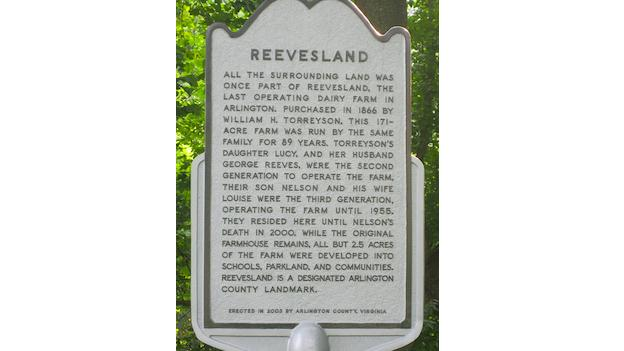 Reevesland was the last operating dairy farm in Arlington.