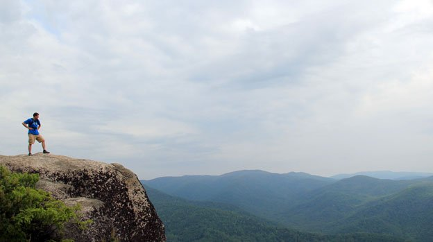 Old Rag is a challenging climb, but it rewards hikers with some of the best views for hundreds of miles.