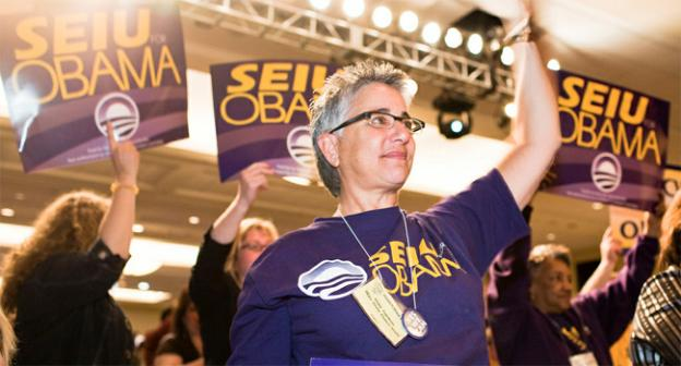 The SEIU will turn out for Obama in 2012 just like they did here, in 2008.