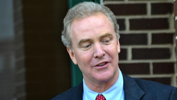 Rep. Chris Van Hollen wants to avoid cuts to social programs in order to pay for an unwinding of planned Pentagon cuts.