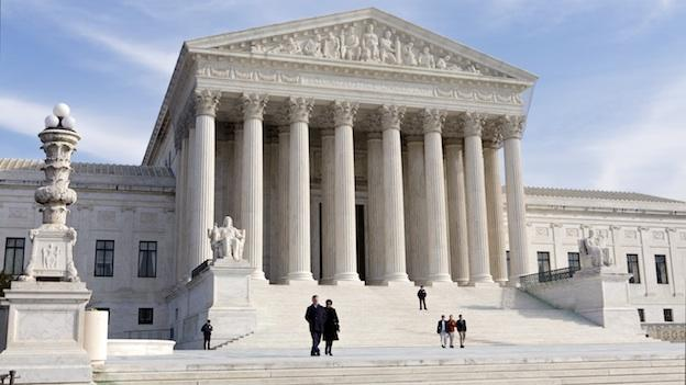 This Wednesday, Jan. 25, 2012 file photo shows the U.S. Supreme Court Building Washington.