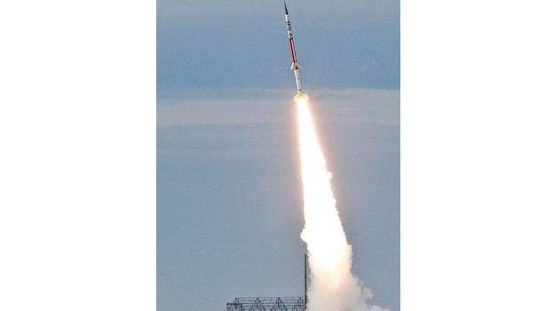 A flight test of a NASA Terrier-Improved Malemute suborbital sounding rocket was successfully conducted on Jan. 11, 2012 from NASA's launch range at the Wallops Flight Facility in Virginia. Launch time was 8:25 a.m. The launch vehicle is being developed to support NASA science missions.