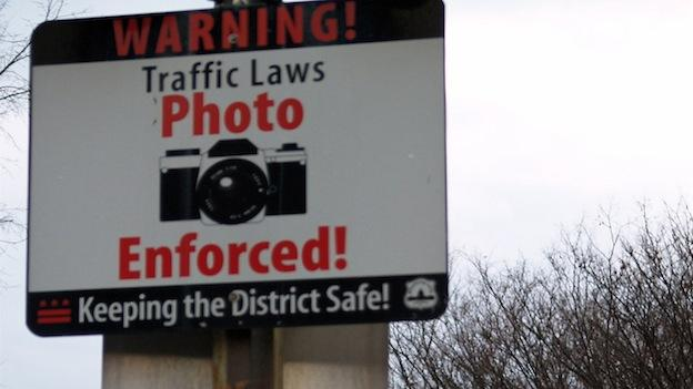 A freshman lawmaker is seeking to eliminate all traffic cameras in the District.