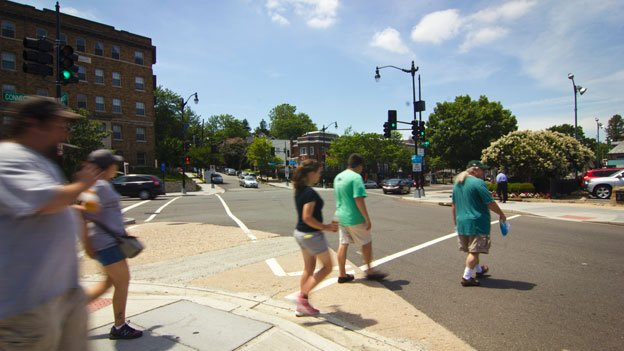D.C. has a higher pedestrian fatality rate than the national average.