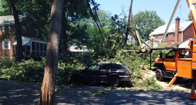 Residents in parts of Northern Virginia had trouble accessing 911 emergency systems after a strong storm ripped through the region June 29.